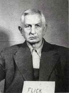 Flick als Angeklagter in Nürnberg (Quelle: Staatsarchiv Nürnberg, Rep. 501 KV-Prozesse Generalia Q-3)