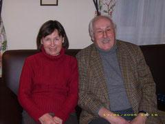 Sas János (a képen feleségével, Évával), akit ismerősei és barátai inkább Papi néven ismernek.