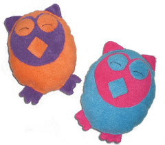 Kits doudous hiboux