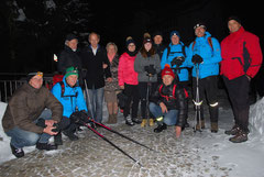 Gruppenbild Nachtwanderung 2015