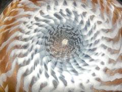 Sandmuster durch Klangschwingung