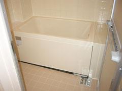在来浴室浴槽サイズアップ