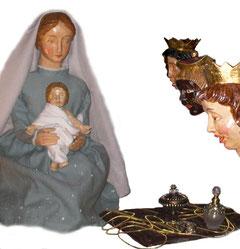 Erscheinung des Herrn, Dreikönig in der Milieukrippe von Sankt Maria in Lyskirchen