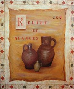 Poteries : Relief et Nuances par Mado (n'est plus disponible)