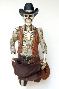 réplica cowboy de halloween