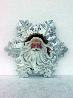 réplica copo nieve Santa Claus