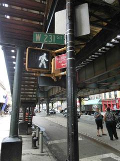 ペーテルと再会した231丁目駅