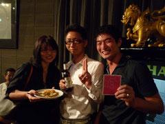 勝屋さん撮影の写真 福野さんと上原さん