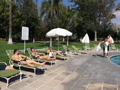 Nach harten Einheiten- etwas relaxing am Pool