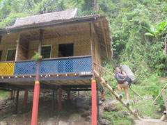Nuts Huts Bungalow im am Loboc River