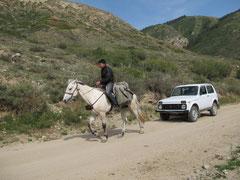 Abschleppdienst in Kirgistan