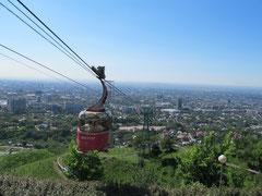 Sicht auf Almaty