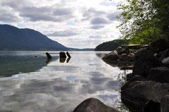 Wunderschöne Stimmung am Alouette Lake