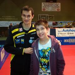 Der doppelte Europameister Stefan Fegerl schlug den Tschechen Prokopcov.