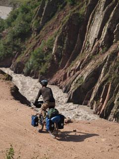 Unterwegs von Duschanbe nach Khorog