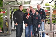 Gernot Hörmann ínterviewt die Traunsee BBQ Grillers