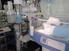 Wärmebett auf Neonatologie