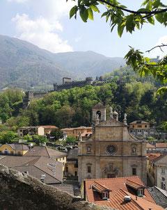 Bellinzona, Burg, Altstadt