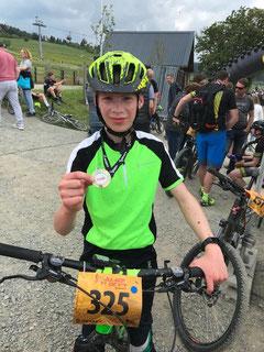 Jüngster Teilnehmer der RSG: Finn Stricker