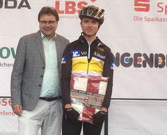 Eine tolle Leistung: Der 16-jährige Timo Schneider sicherte sich in seiner Altersklasse den 3. Platz!