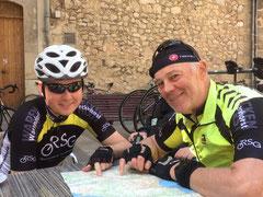 Unsere beiden Tourenguides Jonas und Willi hatten immer wieder tolle Touren zusammengestellt.