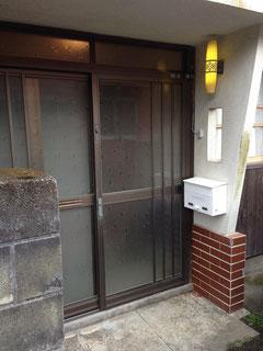 ピッキング対応の玄関戸(ダブルロック)