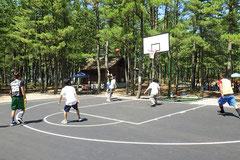 テクノポート福井総合公園のバスケットコート