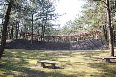 テクノポート福井総合公園のパーゴラ