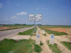 Still 475 km to Santiago