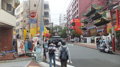 横浜新田(現在の中華街)