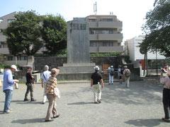 麒麟麦酒(株)開源記念碑