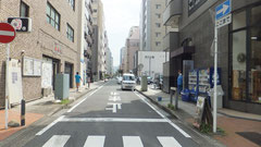 元浜町通り(旧海辺通り)