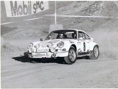Ludwig Kuhn / Klaus Hopfe Deutsche Automobil-Rallyemeister 1977