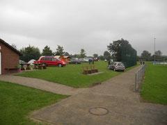 Zeltlager der aktiven Teilnehmer