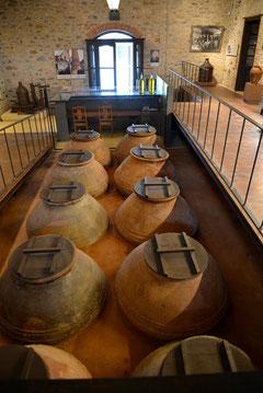 Hier lagerte nur das allerbeste Olivenöl.