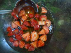 Mmmh... Erdbeerbowle