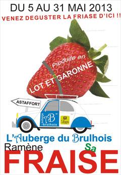 fraise du lot & Garonne