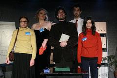 Les acteurs - Crédit photo, Cie Scarenbecca