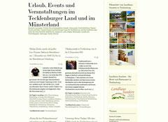 tewcklenburger land events veranstaltungen urlaube