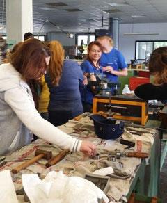 TIO-Frauen im Ausbildungszentrum der BVG