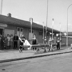 Bootstaufe in den 1950er Jahren