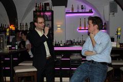 Frank Berger und Lasse Becker