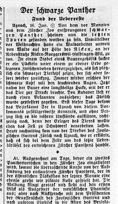 NZZ vom 17. Januar 1934