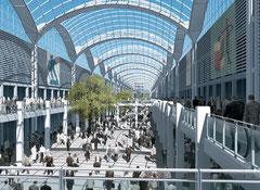 Rho Fiera Milano, 2 Mio. m² Ausstellungsfläche. Auf gutes Schuhwerk achten! Image: www.edilia2000.it
