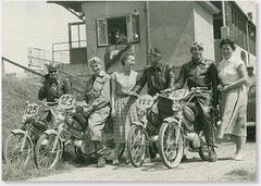 1956 ARBÖ Österreichrundfahrt: Walter Gsöll Nr. 125