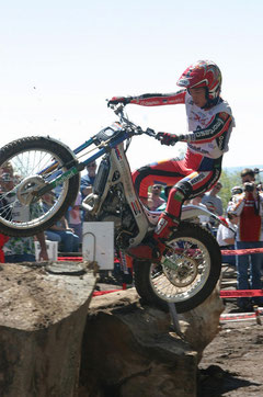 Takahisa Fujinami, Trial World Champion 2004. Image: world.honda.com
