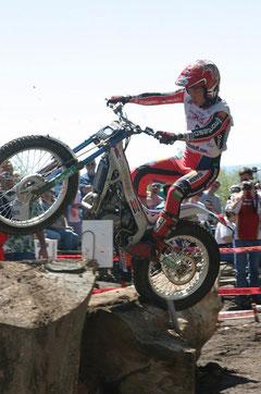 Takahisa Fujinami, Trial World Champion 2004. Image: world.honda.com