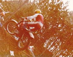 1980, Adi Adamec auf Montesa