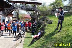 Ideale Bedingungen auch für Richard Ganster (r), image: www.trials.at