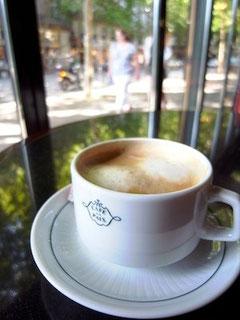 オペラ座付近のカフェ・ド・ラ・ペ